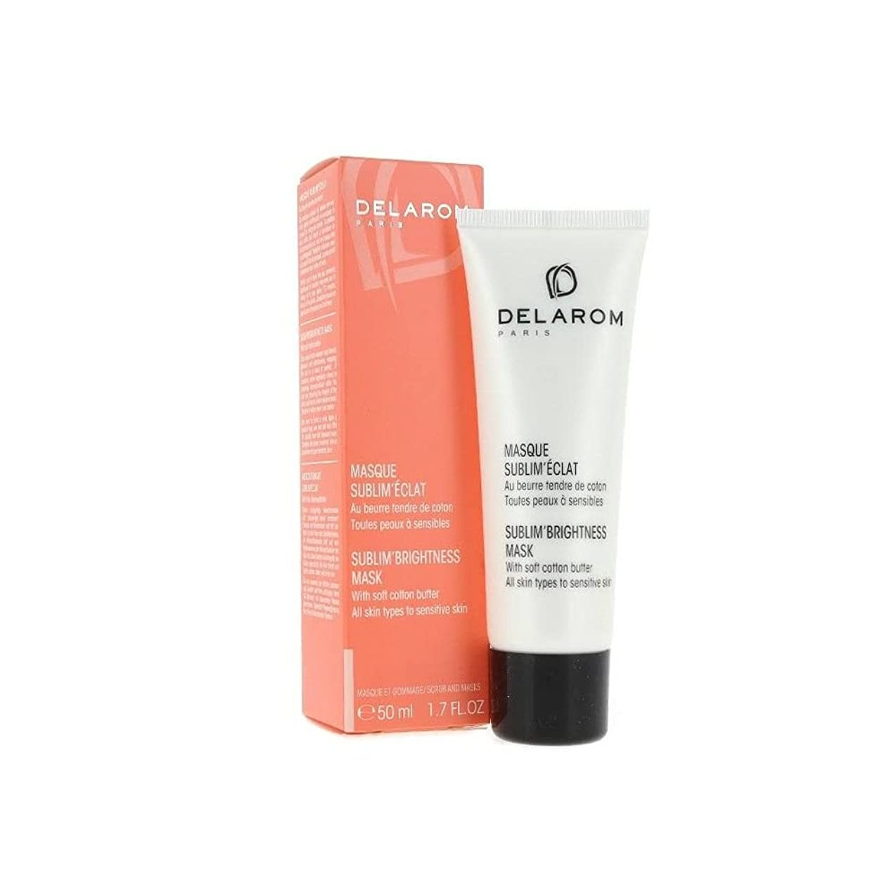 拮抗する確認してください平らなDELAROM Sublim' Brightness Mask - For All Skin Types to Sensitive Skin 50ml/1.7oz並行輸入品