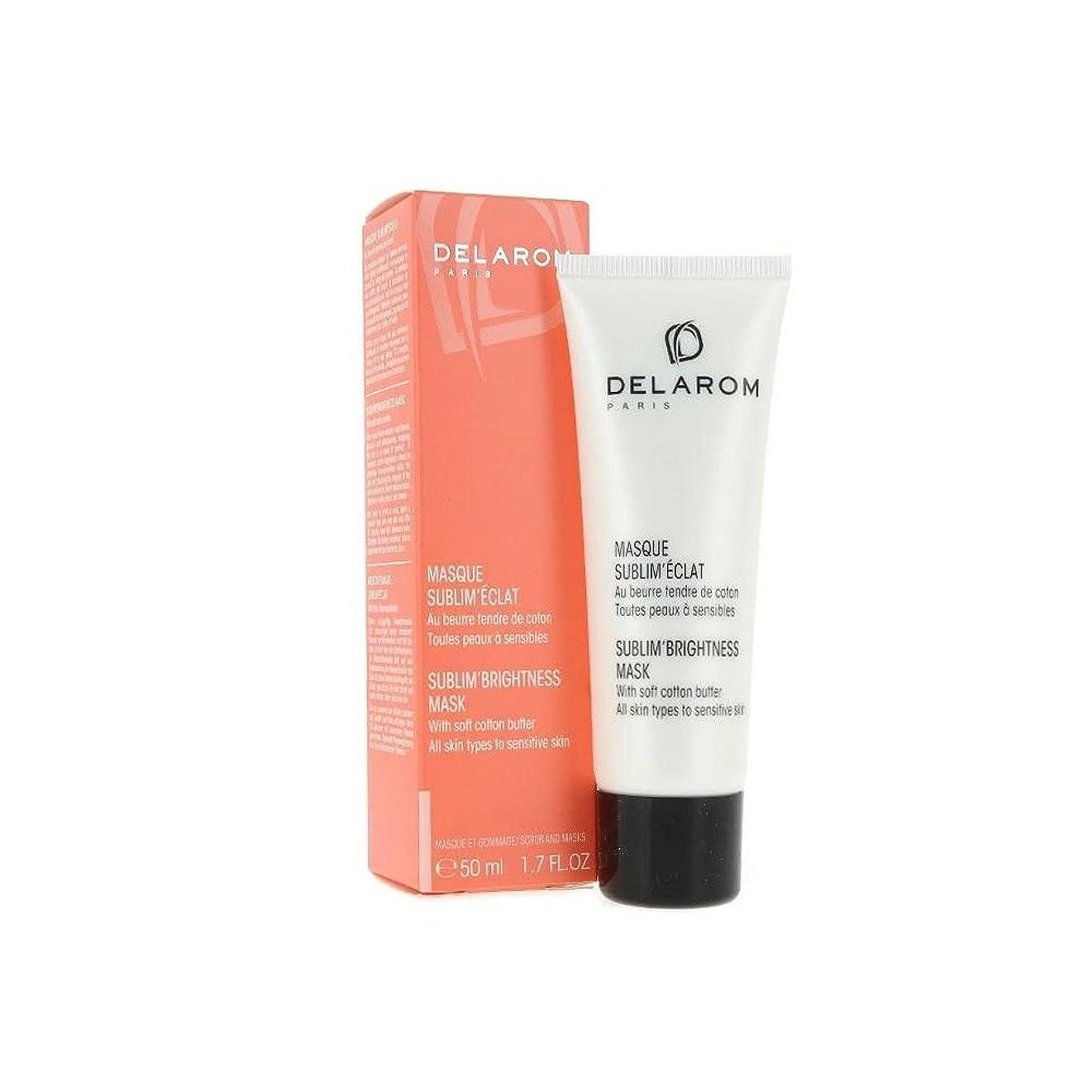 苗恐ろしい国民DELAROM Sublim' Brightness Mask - For All Skin Types to Sensitive Skin 50ml/1.7oz並行輸入品