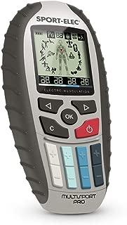 Sport-Elec Multisport Pro Précision Electroestimulador, Hombres y Mujeres, Azul, Talla Única