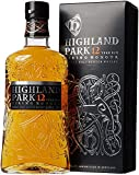 Highland Park 12 Jahre Viking Honour Single Malt Scotch Whisky (1 x 0.7 l) – vollmundiger, rauchiger Geschmack, der Whisky mit der Wikinger-Seele