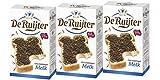 3 x De Ruijter Hagelslag Melk Vollmilchschokolade Streusel 380g -
