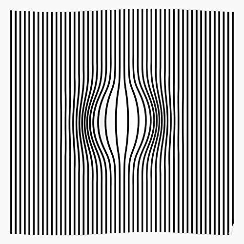 MADEWELL Opart Lines Vasarely 70S Abstract Das eindrucksvollste und stilvollste Poster für Innendekoration, das derzeit erhältlich ist