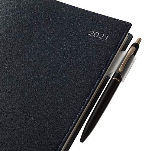 能率NOLTY手帳2021年A5ウィークリービジネスベーシックダイアリー青6701(2020年12月始まり)