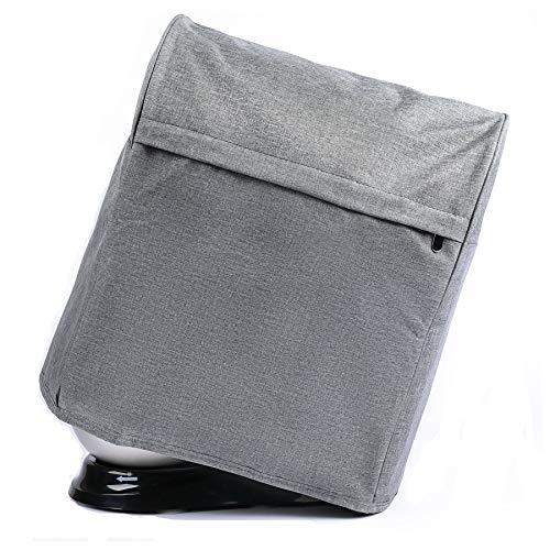 Staubschutz für Standmixer mit Taschen, kompatibel mit KitchenAid-Kippkopf 4,5–6 Quart,auch für Sunbeam, Cuisinart, Hamilton Mixer (grau)