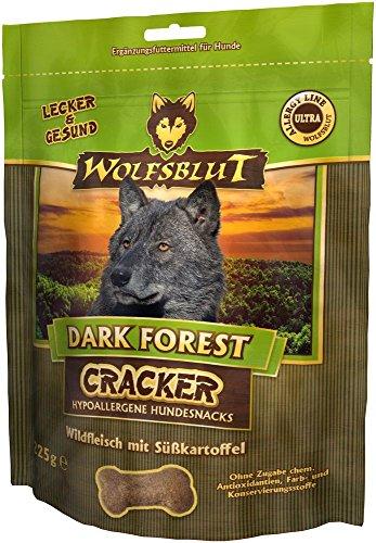 Wolfsblut Dark Forest Cracker - 225 g - Wild - Snack - Nourriture pour chien - Sans céréales