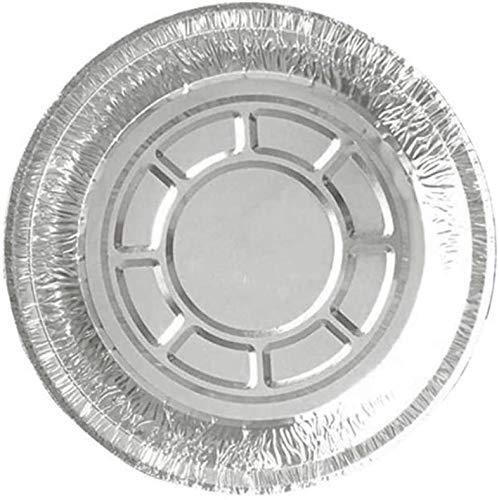 ZERAY® 25 Stück Aluschalen 930 ml OHNE Deckel.Grillschale.aluschalen.aluschalen rund.Aluschalen Grill.Tropfschale Grill