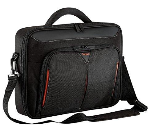 Targus CN418EU Classic+ – Laptoptasche für Geräte mit Bildschirmdiagonalen von bis zu 17Zoll – schwarz