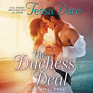 The Duchess Deal     Girl Meets Duke              De :                                                                                                                                 Tessa Dare                               Lu par :                                                                                                                                 Mary Jane Wells                      Durée : 7 h et 56 min     3 notations     Global 4,7