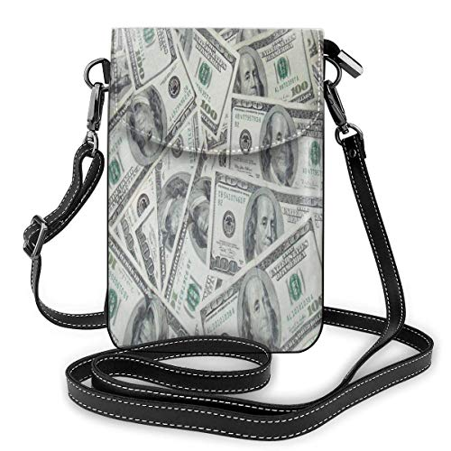Clothes socks Cell Phone Purse Hundred Dollar Crossbody Bag Women'S Lightweight Portable Small Wallet Waterproof Pu Leather Mini Shoulder Bag Easy Care Phone Wallet For Shopping Date Hiking