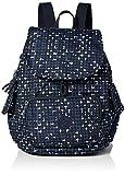Kipling CITY PACK S, Backpackpacks. para Mujer, Pequeño estampado en O, 19x27x33.5 cm (LxWxH)