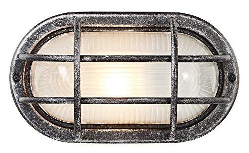 Tartarughe per esterni Ovale Nero/Argento Allumino pressofuso da Haysoms