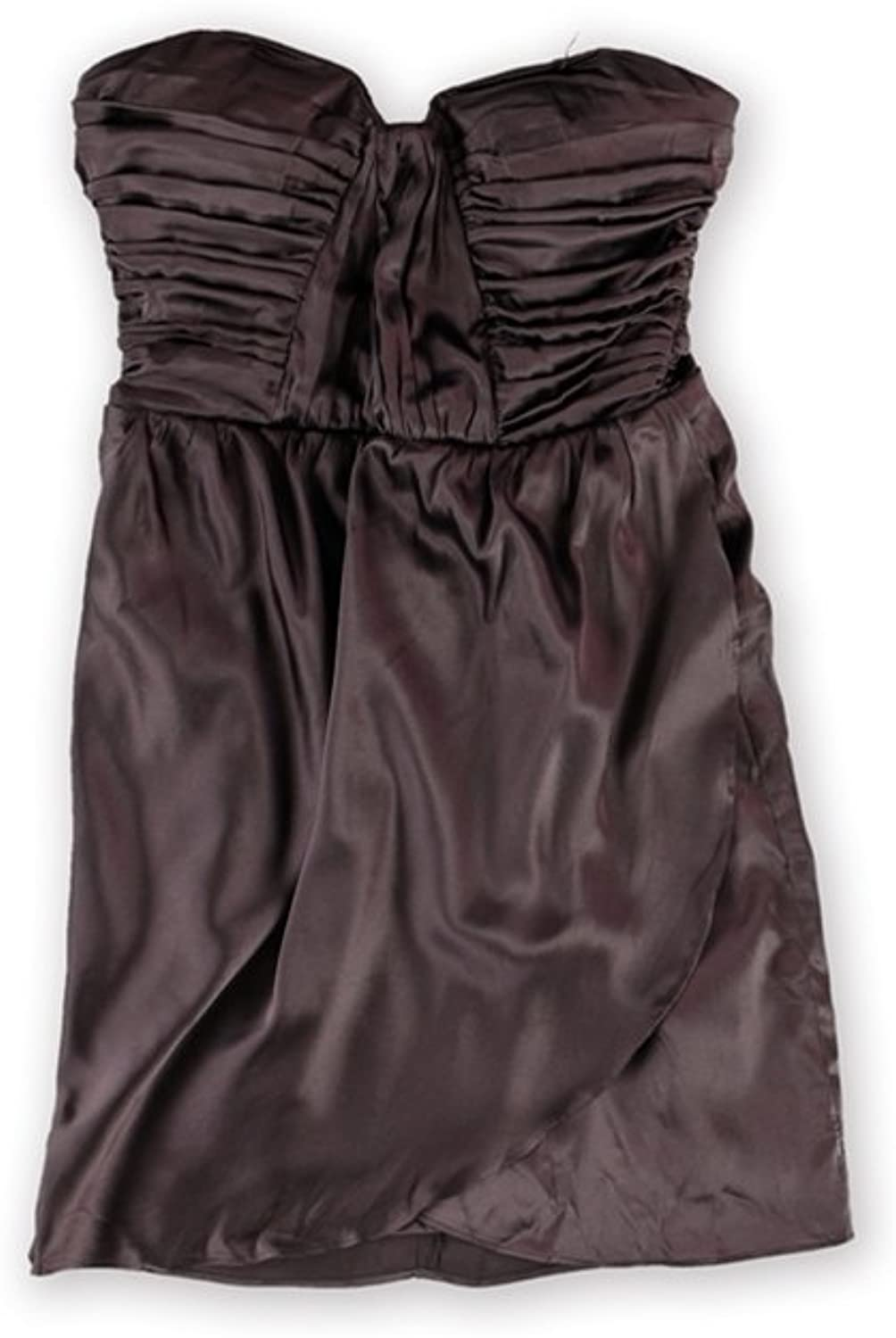 Bebe Womens Charmed Silk Strapless Dress