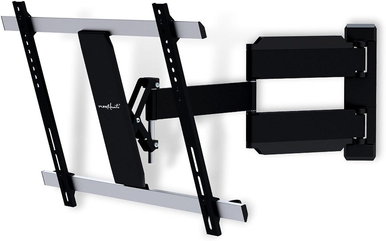 """PureMounts TV Wandhalterung PM-Slimflex-65 – neigbar, schwenkbar, flach, ultraslim für Fernseher bis 165cm   65"""" Zoll   VESA600"""