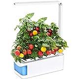 YYSDH Kit De Cultivo Interior Smart Garden, Luz LED Sprout, Modo De Lectura Incorporado Y Recordatorio De Escasez De Agua, Brazo Ajustable De 360 °, para Plantas, Construyó Su Jardín Interior