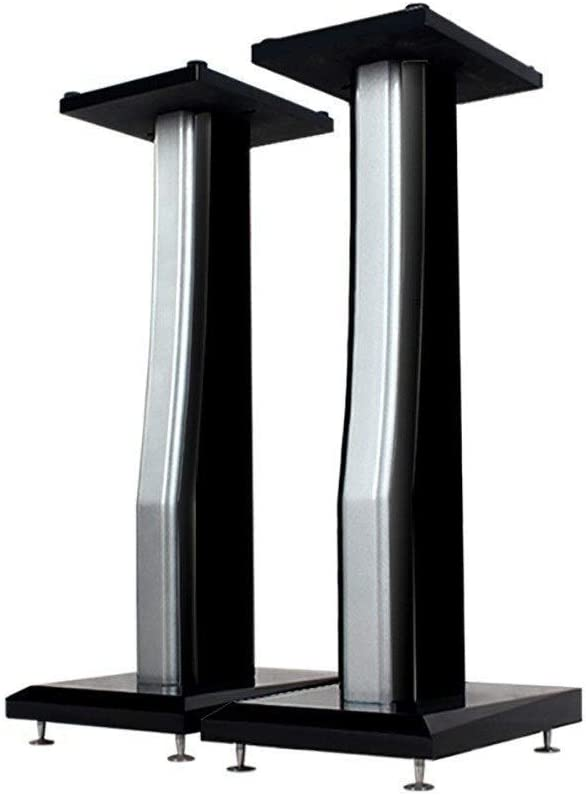 BXYXJ 23.4 Inch Speaker Our shop most popular Stand-Black 75 Very popular Solid Supports P Wood