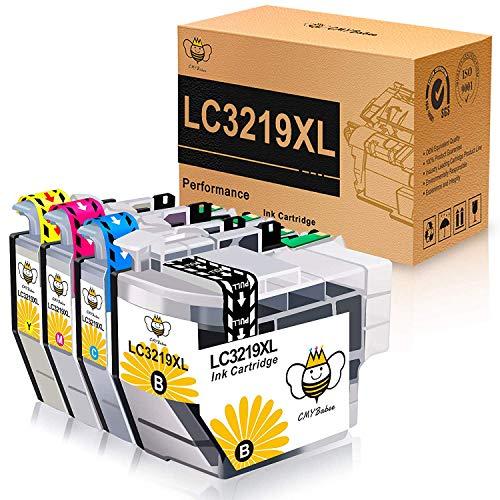 CMYBabee Kompatible Tintenpatronen für Brother LC-3219XL LC3217 Ersatz für Brother MFC-J5330DW MFC-J5335DW MFC-J5730DW MFC-J5930DW MFC-J6530DW MFC-J6930DW MFC-J6935DW-Drucker (4 Pack)