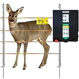 Agrarzone Set de valla salvaje N3500 230 V, 5,5 J, cinta de 250 m, color naranja y amarillo