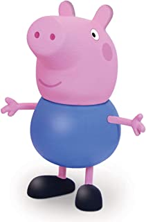 Boneco e Personagem George Peppa Pig Vinil 13 Cm, Elka, Multicor