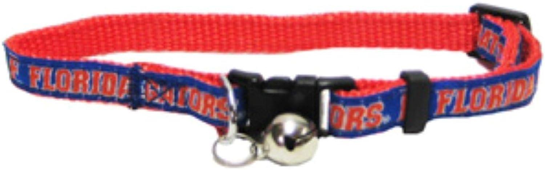Florida Gators Premium Breakaway Adjustable Cat Collar with Jingle Bell