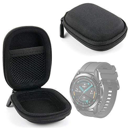 DURAGADGET Funda Negra Compatible con Smartwatch Huawei Watch GT 2 Sport, Garmin Fenix ??6S Pro, Emporio Armani ART5007