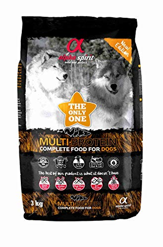 ALPHA SPIRIT Pienso Grain Free Multiprotein The Only One Saco 3 Kg ⭐