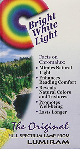 Chromalux Lumiram Full Spectrum 3 Way 50/100/150 Watts Frosted Light Bulb