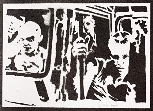 Imperator Furiosa Poster Mad Max Fury Road Plakat Handmade Graffiti Street Art - Artwork
