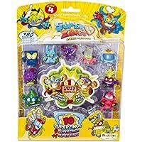 Superzings Serie 4 - Blister 10 Figuras (9 figuras SuperZings + 1 Figura Dorada Super Rare), Modelos Surtidos