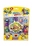 Superzings Serie 4 - Blister 10 Figuras (9 figuras SuperZings + 1 Figura Dorada Super...