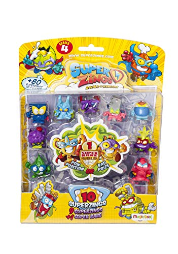 Superzings - Serie 4 - Blister 10 figuras (9...