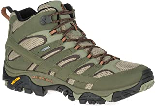 Merrell Shoes Moab 2 Mid Gore-Tex J42475 Olive Adobe Size 7