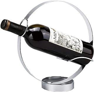 ZLJ Casier à vin en Acier Inoxydable Armoire à vin Support décoratif Cuisine Salon présentoir Support