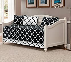 Mk Collection 5 Piece Modern Elegant Bedspread Daybed Cover Set