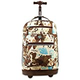 J World New York Sundance Laptop Rolling Backpack, Atlas, One Size