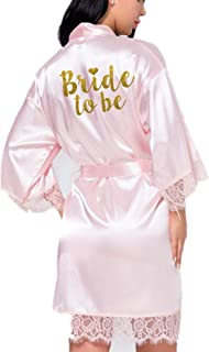 Lace Bridal Robe Bride Gift Lace Bridal Party Robes Bridesmaid Gift Wedding Robe Bridal Shower Gift