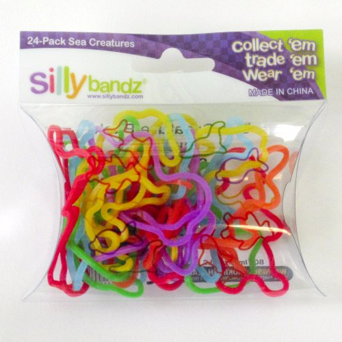 Silly Bandz Sea Creatures - 24 Pack