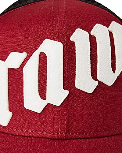 G-STAR RAW Mens Felt Trucker Baseball Cap, ox Blood 2327-1310, One Size fits All