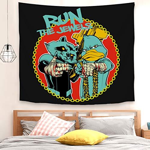 Run the jewels - Tapiz para colgar en la pared, 200 x 150 cm