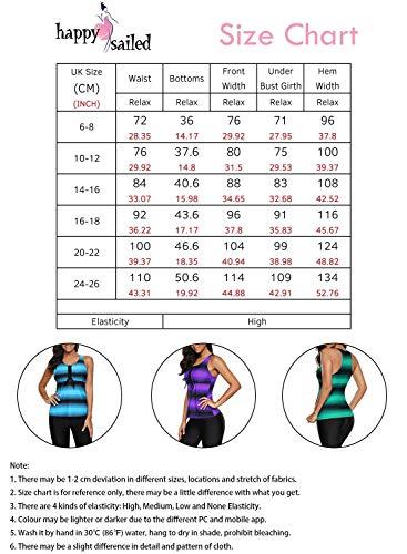 Happy Sailed Womens Color Block Racerback Sports Swimwear Tankini Sets Plus Size