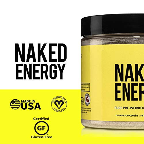 Naked Energy – All Natural Pre Workout Powder
