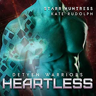 Heartless     Detyen Warriors, Book 3              Written by:                                                                                                                                 Kate Rudolph,                                                                                        Starr Huntress                               Narrated by:                                                                                                                                 Ian Gordon,                                                                                        Jennifer Gill                      Length: 6 hrs and 35 mins     1 rating     Overall 5.0