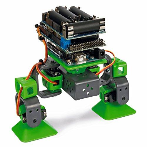 Velleman Vr204 Robot Quadrupede da Costruire Compatibile con Arduino