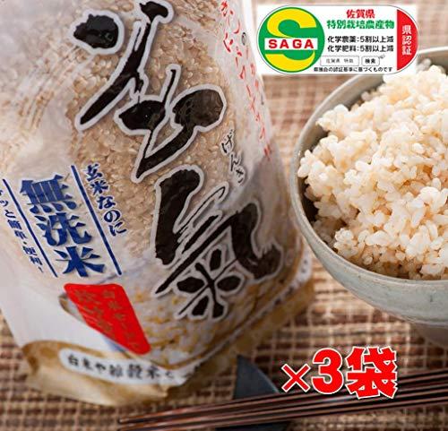 川島米穀店『無洗米無農薬発芽玄米玄氣』