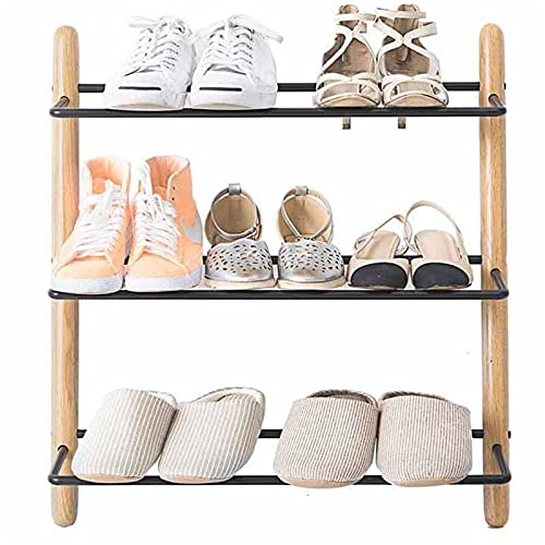HYAN Zapatero Moderno 3 gráficos de Zapatos Zapatos Zapatos de pie, Estante de Zapatos, Organizador de Almacenamiento para Entrada, Pasillo y Armario Caja de Zapatos
