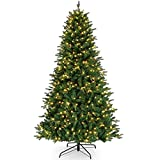 Mr. Christmas Alexa Compatible RGB Vermont Spruce LED Christmas Tree, Nine Foot Artificial Tree, 9' – A Certified for Humans Device