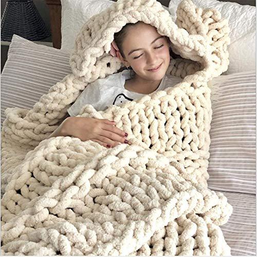 Mantas Sofa Grandes Nudos mantas sofa  Marca YUANP