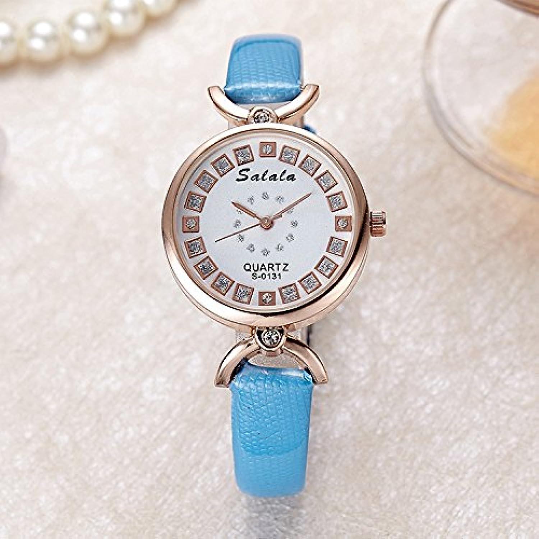 XM New ladies Diamond watches students fashion watch quartz watch , blueee