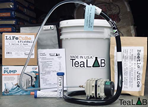 Complete Compost Tea Brewer Kit : 5 Gallon : Bubbles Other Brewers Out of The Water
