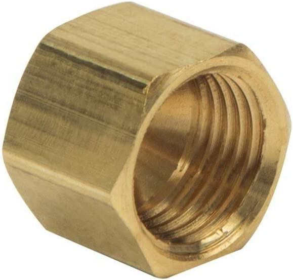Alternative dealer 1 4 Inch Max 80% OFF Brass Nut Compression Fittings