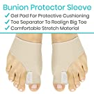 ViveSole Bunion Corrector and Relief Kit (11 Pcs) - Protector Sleeve for Hammer Toe and Foot Pain - Orthopedic Spacer Brace Guard - Hallux Valgus Splint, Big Joint Straightener and Separator Treatment #2